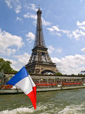 Eiffel Tower from the Seine Royalty Free Stock Image