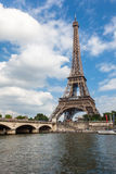 The Eiffel Tower and seine river in Paris, France Royalty Free Stock Photo