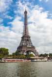 The Eiffel Tower and seine river in Paris, France Stock Photo