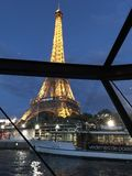 The Eiffel Tower on the Seine Royalty Free Stock Photos