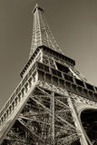 Eiffel Tower sepia Stock Images