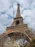 The Eiffel Tower at spring, Paris, France Stock Photo