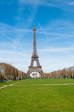 Eiffel Tower at spring, Paris Stock Images