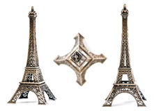 Eiffel Tower Statue Royalty Free Stock Photography