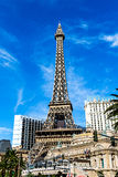 Eiffel tower on Strip, Las Vegas Royalty Free Stock Images