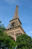 Eiffel tower, summertime Royalty Free Stock Images