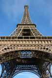 Eiffel tower, summertime royalty free stock photography