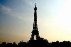 Eiffel Tower at Sunrise. Paris, France Stock Image