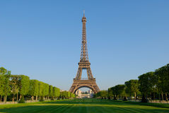 Eiffel Tower at sunrise Royalty Free Stock Photos