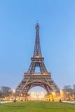 Eiffel Tower Sunrise Stock Photo
