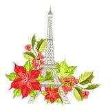 Eiffel tower symbol. Royalty Free Stock Photos