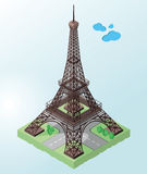 Eiffel tower, symbol of France and Paris Royalty Free Stock Image