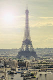 Eiffel tower symbol Royalty Free Stock Images