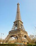 Eiffel tower. Symbol of Paris, France Royalty Free Stock Photo