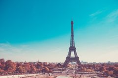 Eiffel Tower, symbol of Paris, France. Paris Best Destinations in Europe. / royalty free stock images