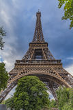 The Eiffel Tower symbol of Paris, France Royalty Free Stock Photography