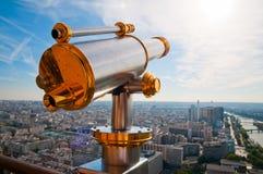Eiffel Tower telescope Stock Photos