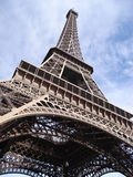 Eiffel_tower_top Royalty Free Stock Photography