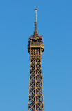 Eiffel Tower, top floor Royalty Free Stock Photos