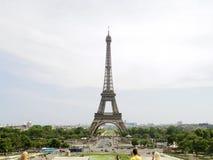 Eiffel tower tourist Royalty Free Stock Image