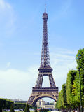 Eiffel tower tourist Royalty Free Stock Image