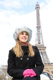 Eiffel Tower tourist in Paris, France Royalty Free Stock Photography