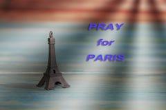 Eiffel Tower Toy .Paris Icon , peace Stock Photos