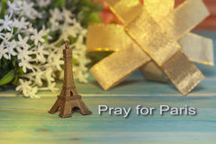 Eiffel Tower Toy .Paris Icon , peace Stock Photography
