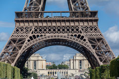 The Eiffel Tower and Trocadero Paris Stock Photography