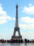 Eiffel Tower from Trocadero, Paris Stock Photos