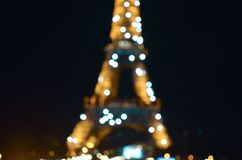 Eiffel Tower twinkly lights royalty free stock images