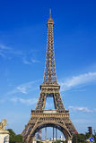 Eiffel tower. Under blue sky Stock Images