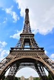 Eiffel Tower under blue sky, Paris, France Royalty Free Stock Image