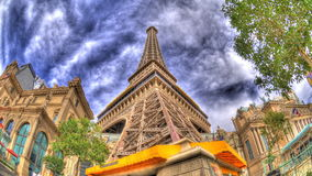 Eiffel tower up all stock video