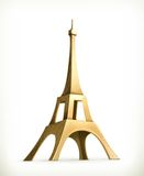 Eiffel Tower vector icon Stock Photo