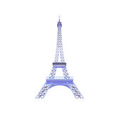 Eiffel tower  vector illustration. Eps10 Royalty Free Stock Photography