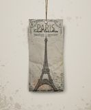 Eiffel tower vector illustration Stock Images