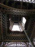 Eiffel tower,the view from stock photography
