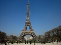 Eiffel Tower #15 Royalty Free Stock Photography
