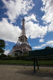 Eiffel tower. A view of Eiffel Tower in Paris Stock Image