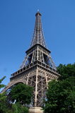 Eiffel Tower. View of the Eiffel Tower, Paris, France Royalty Free Stock Photo