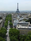 Eiffel tower view Royalty Free Stock Photography