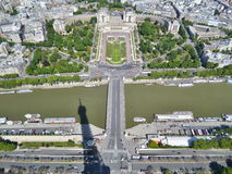 Eiffel Tower view Royalty Free Stock Photos