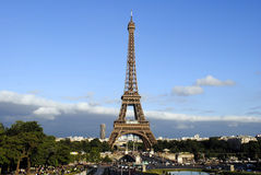 Eiffel tower- view from Tracadero Royalty Free Stock Photo