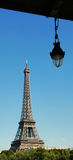 The Eiffel Tower. Royalty Free Stock Photos