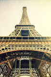 Eiffel tower vintage image Royalty Free Stock Photography