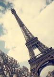 Eiffel tower - vintage photo Stock Image