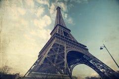 Eiffel tower - vintage photo Stock Photo