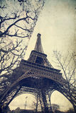 Eiffel tower - vintage photo Stock Images