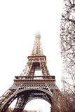 Eiffel Tower in winter Stock Photography